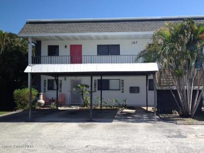 Cocoa Beach Condo For Sale: 147 S Brevard Avenue #4