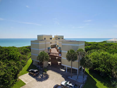 Melbourne Beach Condo For Sale: 6355 S Hwy A1a #4