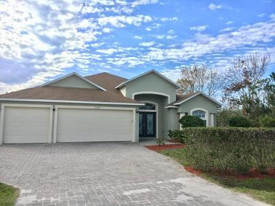Merritt Island Single Family Home For Sale: 6205 Judson Road