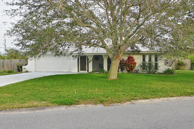 Merritt Island Single Family Home For Sale: 1355 Leslie Drive