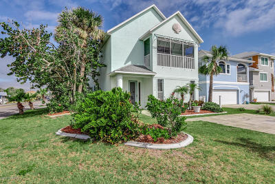 Cocoa Beach Single Family Home For Sale: 318 Harding Avenue