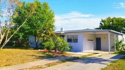 Merritt Island Single Family Home For Sale: 515 Palm Avenue