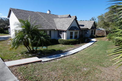 Titusville Single Family Home For Sale: 730 N Carpenter Road