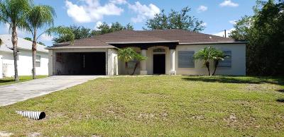 Palm Bay FL Single Family Home For Sale: $150,000