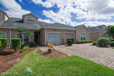 Palm Bay FL Townhouse For Sale: $173,000