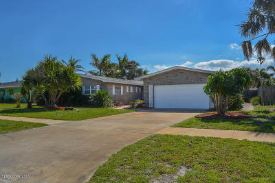 Indialantic Single Family Home For Sale: 349 Franklyn Avenue