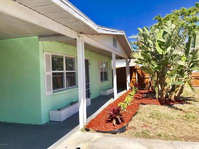 Cape Canaveral Multi Family Home For Sale: 114 Pierce Avenue
