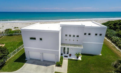 Melbourne Beach FL Single Family Home For Sale: $2,090,000