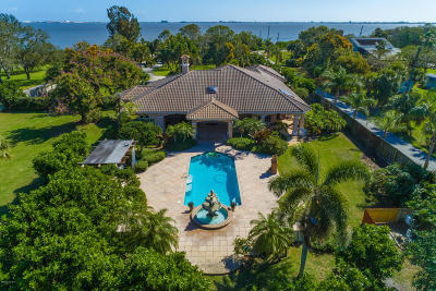 Cocoa, Cocoa Beach, Indian Harbour Beach, Melbourne, Melbourne Beach, Merritt Island, Rockledge, Titusville, Viera Single Family Home For Sale