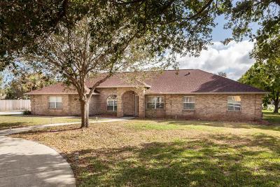 Merritt Island Single Family Home For Sale: 181 Grant Road