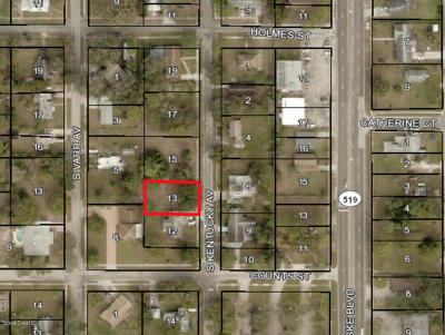 Cocoa Residential Lots & Land For Sale: 627 S Kentucky Avenue