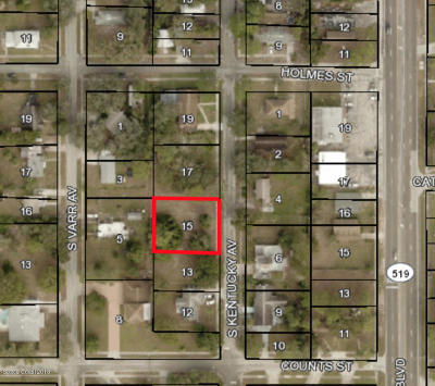 Cocoa Residential Lots & Land For Sale: 619 S Kentucky Avenue