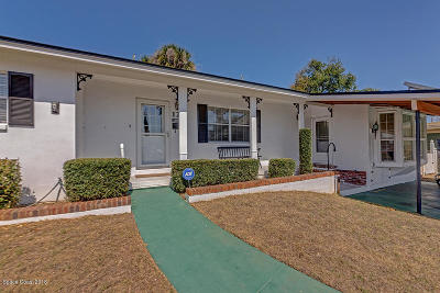 Rockledge Single Family Home For Sale: 124 Orange Avenue