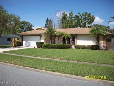 Merritt Island Single Family Home For Sale: 260 Viscount Avenue