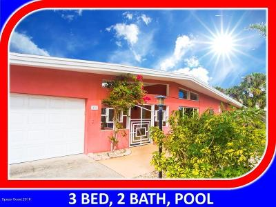 Melbourne Beach Single Family Home For Sale: 410 Hibiscus Trl