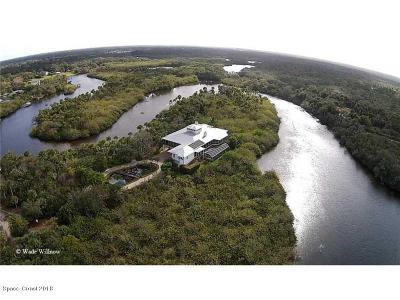 Sebastian Single Family Home For Sale: 11555 Roseland Road