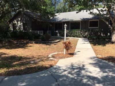 Rockledge Single Family Home Contingent: 1730 Hidden Lake Drive