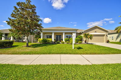 Rockledge Single Family Home For Sale: 5337 Indigo Crossing Drive