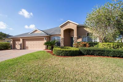 Rockledge Single Family Home For Sale: 4884 Pinot Street