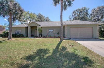Rockledge Single Family Home For Sale: 2209 Royal Oaks Drive