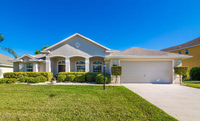 Rockledge Single Family Home For Sale: 3940 Waterford Drive