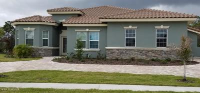 Brevard County Single Family Home For Sale: 4107 Preservation Circle