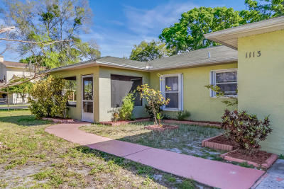 Rockledge FL Single Family Home For Sale: $162,500