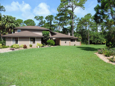 Melbourne Single Family Home For Sale: 4832 Union Cypress Place