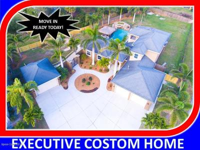 Brevard County Single Family Home For Sale: 110 Edgewater Way