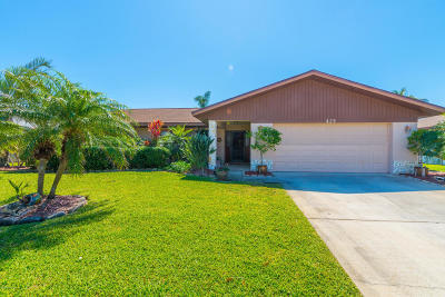 Satellite Beach Single Family Home For Sale: 429 Coach Road