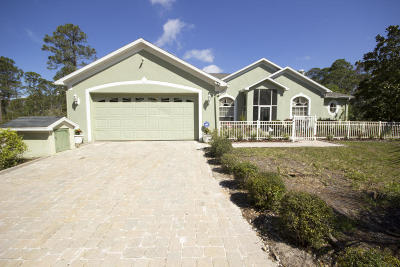 Mims Single Family Home For Sale: 1400 Flatwoods Road