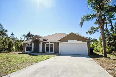 Vero Beach Single Family Home For Sale: 7985 101st Avenue