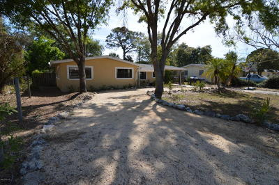 Titusville FL Single Family Home For Sale: $189,000