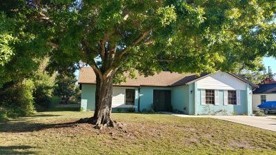 Palm Bay Single Family Home For Sale: 829 NE Brisbane Street NE