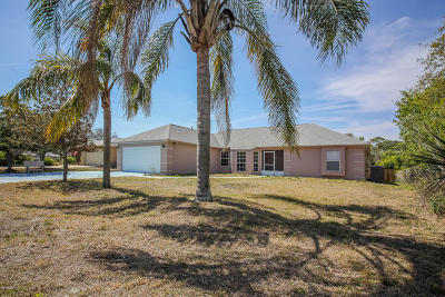 Titusville Single Family Home Contingent: 5120 Volusia Avenue