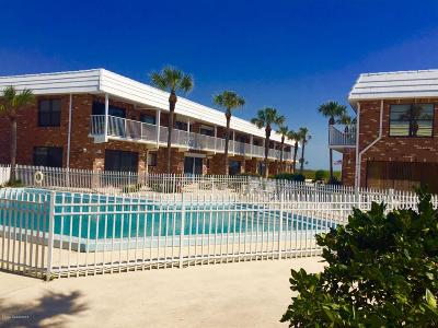 Cocoa Beach Condo For Sale: 5000 Ocean Beach Boulevard #1