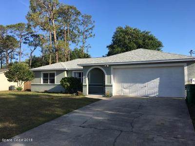 Cocoa Single Family Home For Sale: 4510 Flood Street