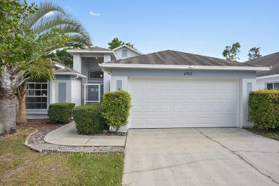 Brevard County Single Family Home For Sale: 4763 Silver Heron Drive