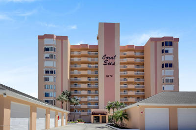 Cocoa Beach Condo For Sale: 6770 Ridgewood Avenue #205