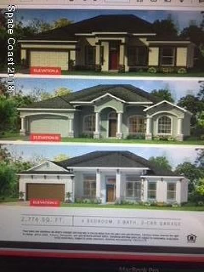 Melbourne Single Family Home For Sale: 1065 Julia Drive