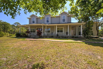 Malabar Single Family Home For Sale: 2125 Arnold Lane