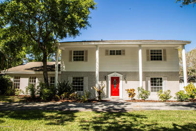 West Melbourne Single Family Home For Sale: 5434 Crane Road