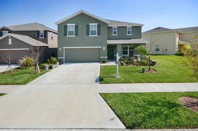 Titusville Single Family Home For Sale: 5537 Yearling Drive
