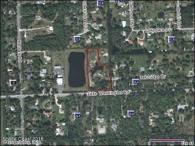 Melbourne Residential Lots & Land For Sale: 4500 Lake Washington Road