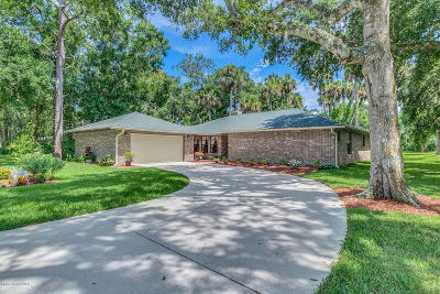 West Melbourne Single Family Home For Sale: 5435 Crane Road