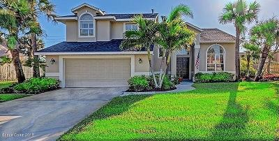 Indian Harbour Beach Single Family Home For Sale: 104 Martesia Way