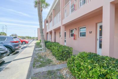 Cocoa Beach Condo For Sale: 3620 Ocean Beach Boulevard #12