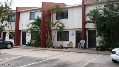 Cape Canaveral Townhouse Contingent: 233 Canaveral Beach Boulevard