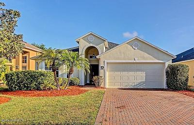 Rockledge Single Family Home For Sale: 2836 Mondavi Drive