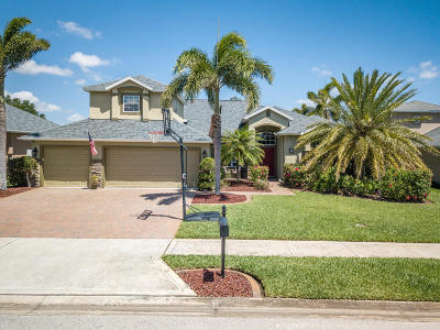 Rockledge Single Family Home For Sale: 4985 Pinot Street